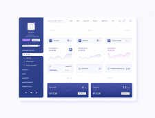 Dashboard with ads