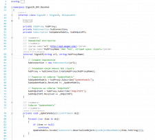 WebSocket на SignalR