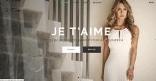 Сайт Дизайн студии одежды Je T'aime