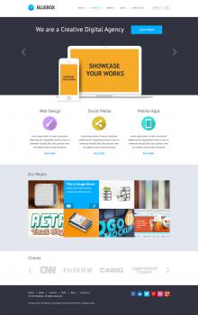 Верстка сайта полностью на HTML5 и CSS3 + карусели