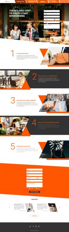 Lastel website design