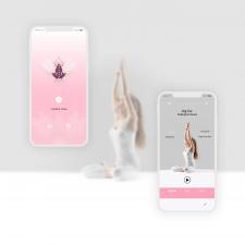 Редизайн мобильного приложения для йоги