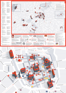 Lviv city guide map for LvivBuddy
