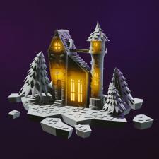 3D Замок
