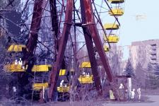 """плакат на выставку """"Чернобыль"""""""