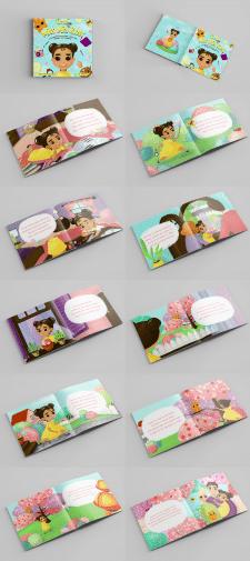 "Детская книжка ""Little Miss Mia Ross"""