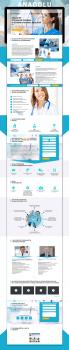 Landing Page для медицинского центра ANADOLU