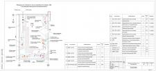 Теплопункт (стадия П)-план помещения