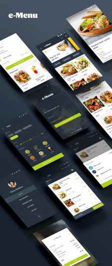 Android e-Menu App