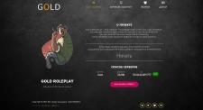 Создание сайта для игрового проекта