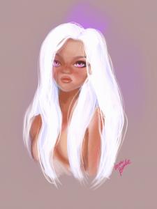Portrait fairy baby
