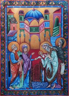 миниатюра армянская от руки
