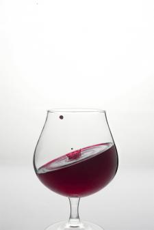 Рекламная съёмка для винного бренда