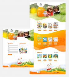Дизайн Landing page для Eggstime.com