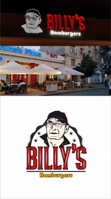 Логотип для гамбургерной  Billy's Hamburg