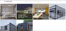 Наполнение сайта проектами дизайн интерьеров