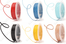 Съемка шнуров в катушках для интернет-магазина