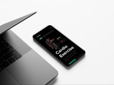 Дизайн Фитнес сайта мобильная версия