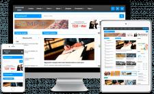 Разработка новостного портала «Поділля news»