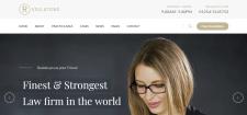 Разработка сайта для юридической фирмы США