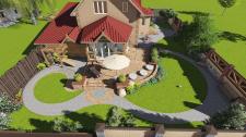 Двор жилого дома