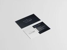 Разработка макета визитной карточки