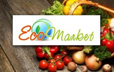 дизайн логотипа для магазина эко-продуктов