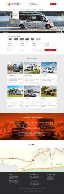 Дизайн главной страницы Для заказчика с Германии