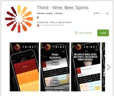 Мобильное приложение Thirst (серверная часть)