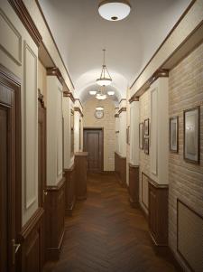 коридор в мини отеле