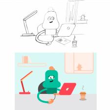 Флэт-иллюстрация