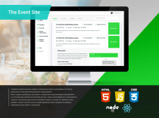 The Event Site React.js