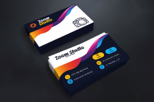 "Business card ""Zoom Studio"""
