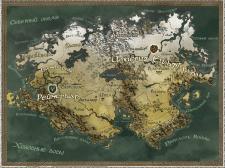Карта мира для книги.