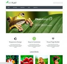 Пример сайта веб-студии