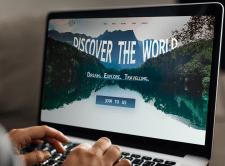 Сайт для путешествий