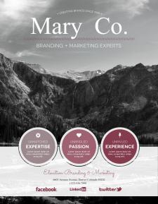 Дизайн сайта МАRY.СО