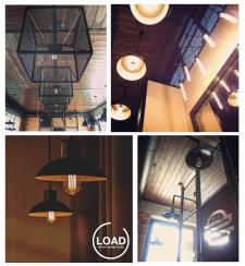 Дизайн светильников для ресторанов и кафе