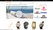 Разработка интернет магазина по продаже часов