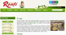Сайт компании по производству продуктов питания