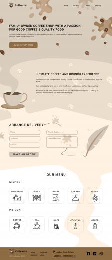 LANDING PAGE | CaffeeHui