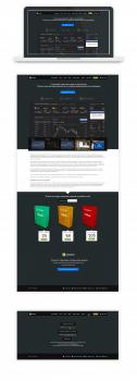 Дизайн сайта для FXsolutions