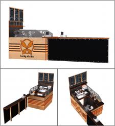 Разработка дизайна кофейного островка