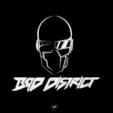 Логотип для музыкального проекта Bad District