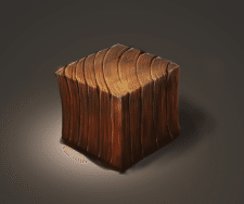 Isometric game element