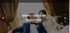 Сайт-портфолио фотографа Щостака Андрея