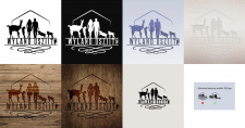 Логотип для фермы, зоотерапия. Германия