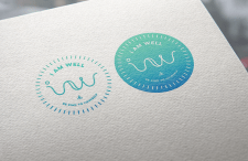 "Логотип для компании ""I AM WELL"""