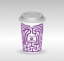 Дизайн стакана для сети кофеен