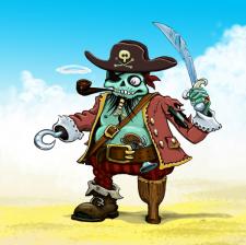 Зомби - пират